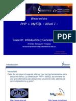 Clase 01 Php Mysql Nivel 1