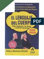 Allan y Barbara Pease - El Lenguaje Del Cuerpo (B&W)