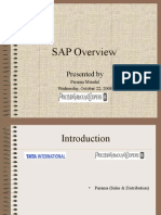 SAP Overview Parama