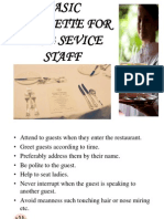 F%26 B Services Induction Manual