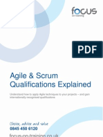 Agile Project Management and Scrum Explained 1.04