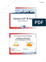 """""""Doctors 2.0 & You"""" 2011 by Denise Silber"""