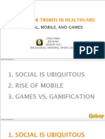 Mobile Social Gamification, by Chia Hwu