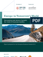 Accenture Europe in Tomorrows World