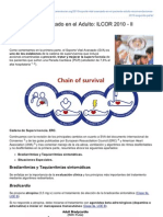 Anestesiar.org-Soporte Vital Avanzado en El Adulto ILCOR 2010 II