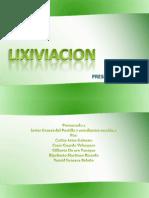 LIXIVIACION Proceso