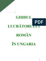 ghid munca ungaria