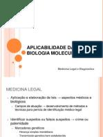 Aula 6 - aplicações de bio mol na saude