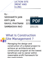 Construction Site Mgmt and Controlling ,221068,69