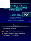 Planning Scheduling & Controlling 21110,221123,221124,221129