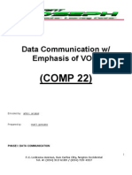 Data Communications With Voip