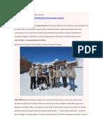 El Aconcagua Summit según Nuria Chinchilla