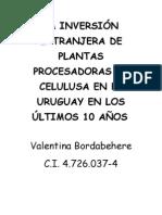 Monografía Inversion extranjera (MET)