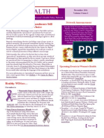 WEALTH - WIN Women's Health Policy Network Newsletter Nov 2011