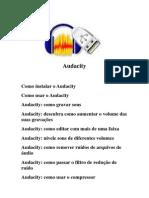 Apostila Do Audacity - Programa Para Editar Audio