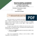 IX10 Programacao Aula004 Banco de Dados Primeiros Passos PARCIAL