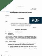 Motion for Contempt - 11-18-11 Patrick Byrne Libel Suit