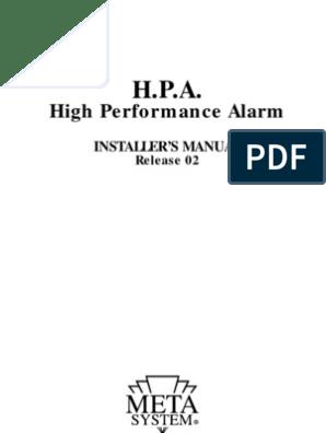 META HPA_e_02 User Manual | Remote Control | RelayScribd