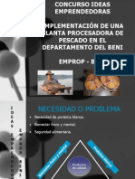 Presentacion Plan de Negocios Emprop Beni