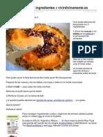 Tarta de Kaki Con 3 Ingredientes Receta de Megumi Vivir Divinamente