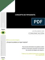 INTRODUCCIÓN_Tipografia - Diseño de comunicación