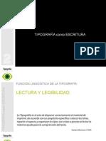 Tipografía como Escritura_Tipografia - Diseño de comunicación