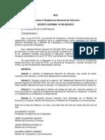 1 to Nacional de Vehiculos Ds 058-2003-Mtc 07oct2003
