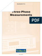 Three Phase Measurements (104-022)