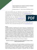 A1 A importância da percepção de agricultores para o desenho de estratégias de adaptação à mudança climática no uso agrícola da terra