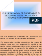 Metodo de Guias, Valuacion y Encuestas as