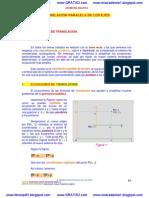 translacion paralela de los ejes  www.gratis2.com