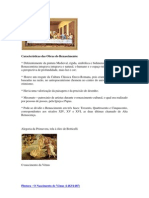 Características das Obras do Renascimento