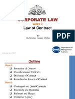 Week 3 Law of Contract
