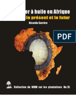 Palmier a Huile en Afrique