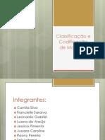 Classificação e Codificação de Materiais