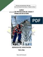 Manual Curso Basico de Proteccion de Caidas y Trabajo en Altura
