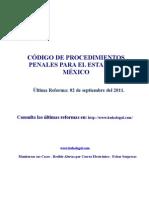 Codigo Procedimientos Penales Estado Mexico Sep 2011