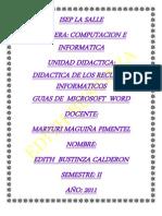 Guia de Microsoft Word