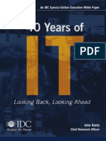 40 years of IT by IDC