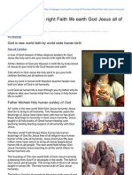Hubpages.com-Founding of Birth Right Faith Life Earth God Jesus All of Us