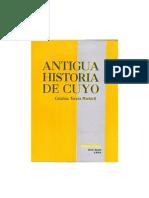 Antigua Historia de Cuyo