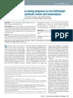 cocaína e gestação revisão 2010