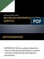 Balon de Contrapulsacion Aortica