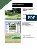Minnesota; Rain Garden Resources - Minnehaha Creek Watershed District