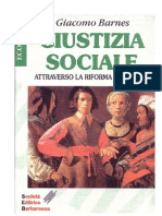 Giacomo Barnes - La Giustizia Sociale Attraverso La Riforma Monetaria