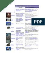 Lista de rocas orden alfabético