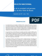 DeclaraciónConsultaPerú 10-2011 español Final Cartilla