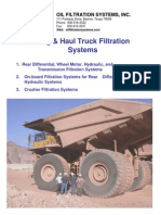 Mining Haul Truck Filtration Systems