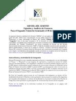Discusión y Análisis de Gerencia 2do trimestre 2011