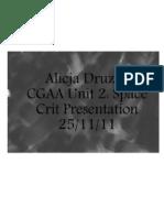 Unit2- Crit Presentation